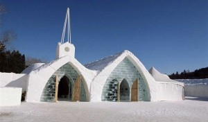 Ice Hotel in Canada (24 photos) 8
