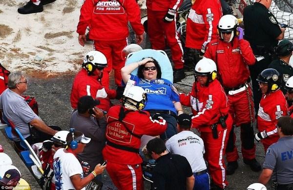 759 Ατύχημα στο NASCAR Daytona 500 (17 φωτογραφίες)
