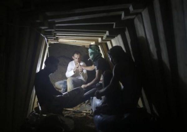 828 Οι σήραγγες της Γάζας (20 φωτογραφίες)