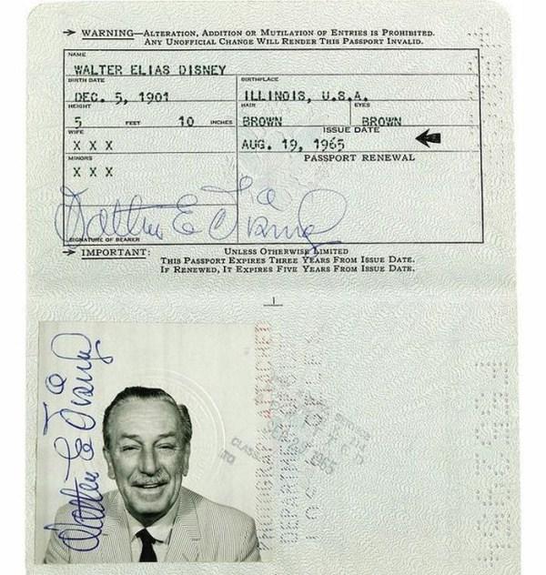 920 Passports of Fаmоus Реоple (17 photos)
