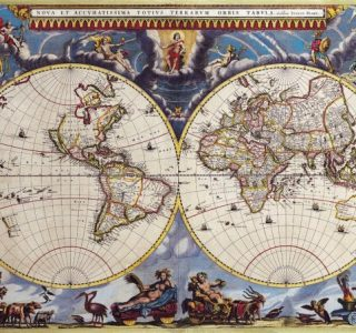 Old Maps of The World (100 photos)
