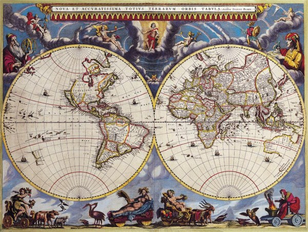 Old Maps of The World (100 photos) 100