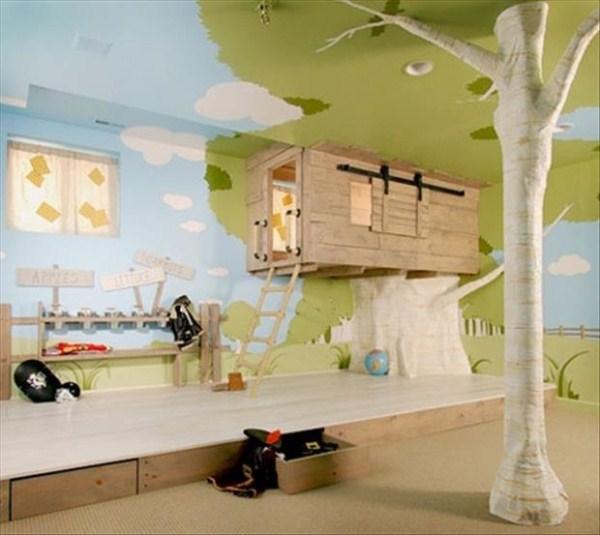 1100 Awesome Υπνοδωμάτια για παιδιά (31 φωτογραφίες)