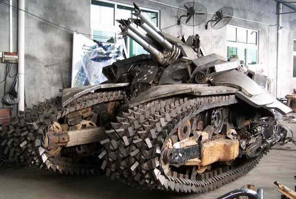 1101 Megatron Tank Made in Κίνα (7 φωτογραφίες)