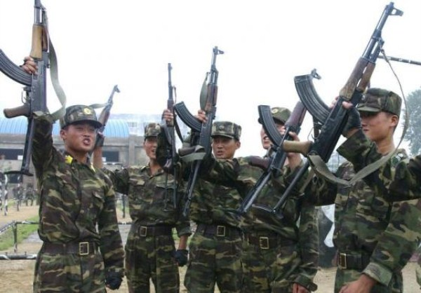 1122 Η Βόρεια Κορέα Στρατιωτικό (34 φωτογραφίες)