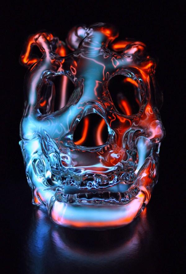 140 Φωτεινές κρανία Glass (9 φωτογραφίες)
