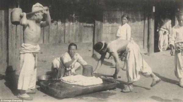 1528 Φωτογραφίες από Old Κορέα (22 φωτογραφίες)