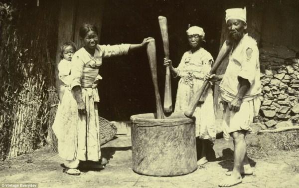 1626 Φωτογραφίες από Old Κορέα (22 φωτογραφίες)