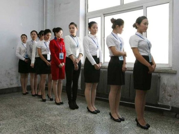 Castings for Stewardesses in China (24 photos) 17