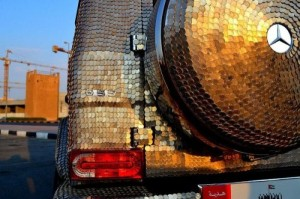 Mercedes Covered with Coins (14 photos) 17