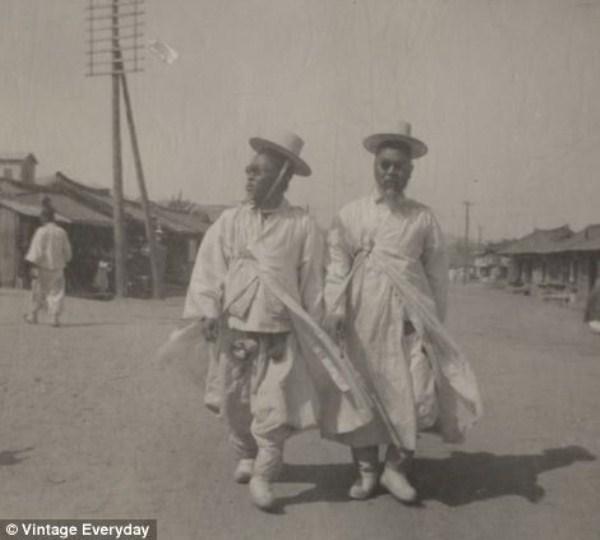 1725 Φωτογραφίες από Old Κορέα (22 φωτογραφίες)