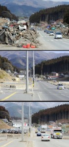 Japan Tsunami Two Years On - Before and After Pictures (38 photos) 17