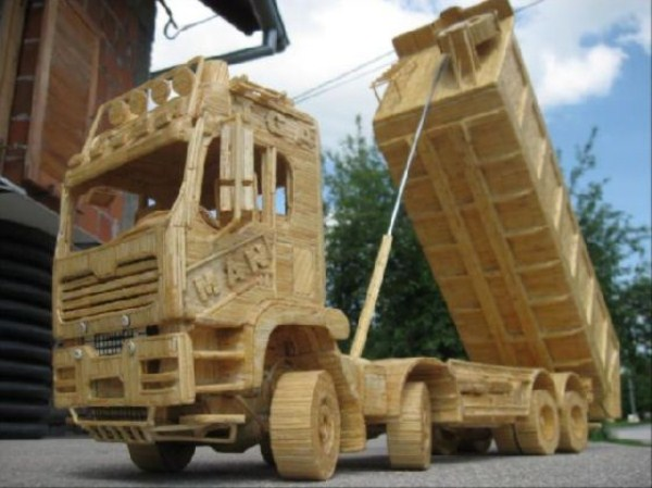 Impressive Matchsticks Vehicles (20 photos) 18