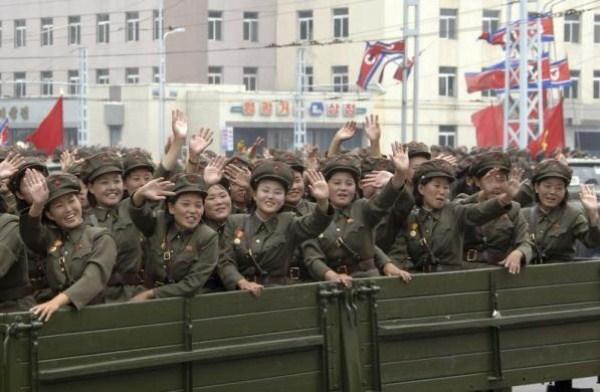 208 Η Βόρεια Κορέα Στρατιωτικό (34 φωτογραφίες)
