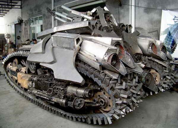 250 Megatron Tank Made in Κίνα (7 φωτογραφίες)