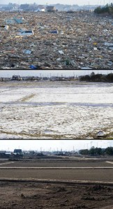 Japan Tsunami Two Years On - Before and After Pictures (38 photos) 31