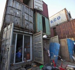 Living in a Shipping Container (8 photos)