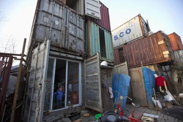 319 Ζώντας μέσα σε ένα εμπορευματοκιβώτιο (8 φωτογραφίες)
