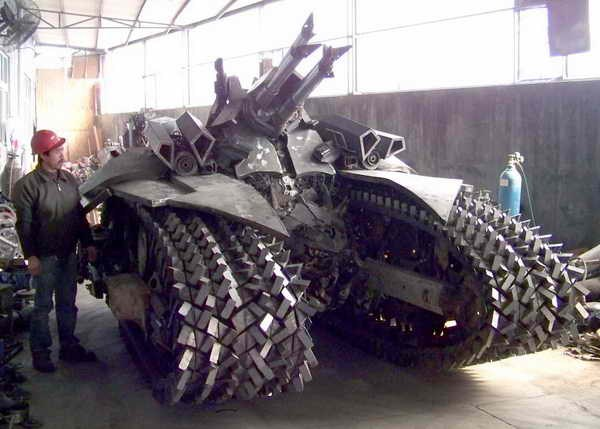 338 Megatron Tank Made in Κίνα (7 φωτογραφίες)