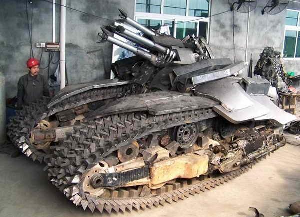 432 Megatron Tank Made in Κίνα (7 φωτογραφίες)