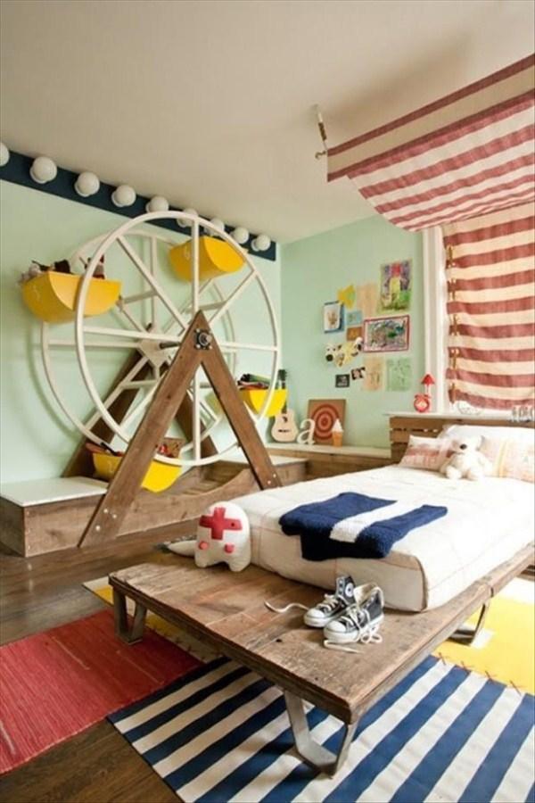 522 Awesome Υπνοδωμάτια για παιδιά (31 φωτογραφίες)