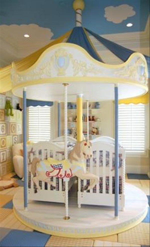722 Awesome Υπνοδωμάτια για παιδιά (31 φωτογραφίες)