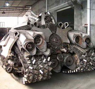 Megatron Tank Made in China (7 photos)