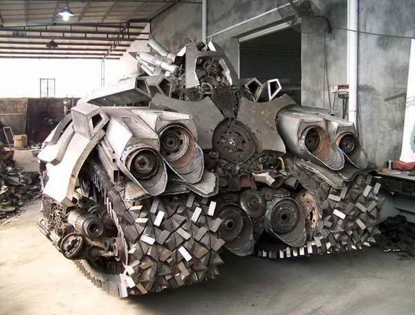 723 Megatron Tank Made in Κίνα (7 φωτογραφίες)