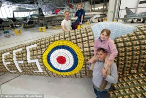 Spitfire Built From 6500 Egg Boxes (10 photos) 7