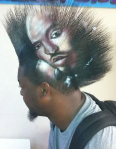 Creative Ads on Hair (33 photos) 8