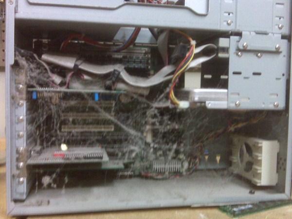 NOPE.  Extreme Filthy Υπολογιστές (38 φωτογραφίες)