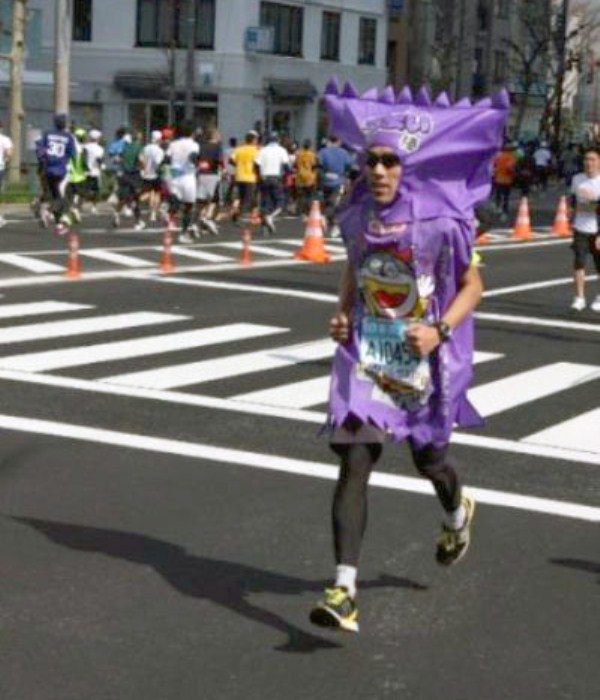 Weird People of the Tokyo Marathon (39 photos) 10