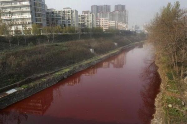 16 Ρύπανση στην Κίνα (17 φωτογραφίες)
