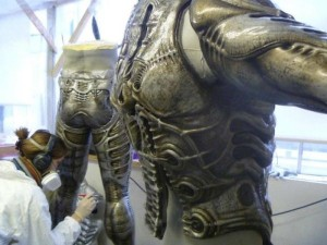 "The Making of an Engineer from ""Prometheus"" (23 photos) 17"