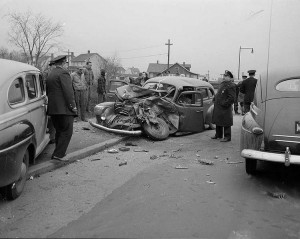 Car Accidents from the Past (44 photos) 23