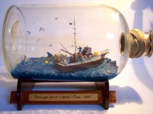 Best Scene From 'Jaws' In A Bottle (38 photos) 37