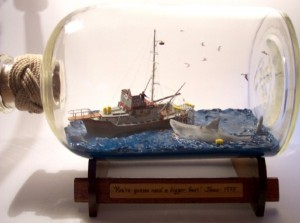 Best Scene From 'Jaws' In A Bottle (38 photos) 38