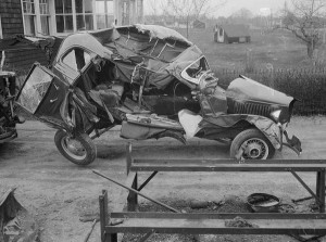 Car Accidents from the Past (44 photos) 38