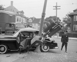Car Accidents from the Past (44 photos) 41