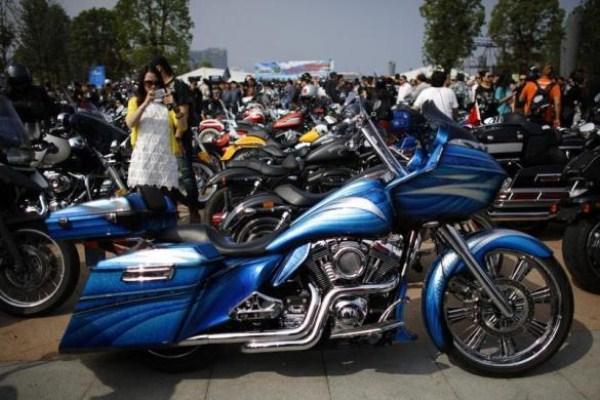 1120 Chinas Easy Riders (26 φωτογραφίες)