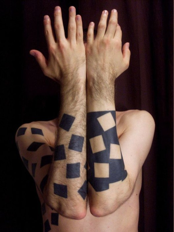 Geometric Tattoos (73 photos) 1