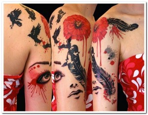 Incredibly Artistic Tattoos (47 photos) 24