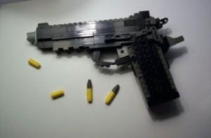 Guns Made With Legos (26 photos) 24