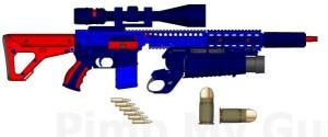 Guns Made With Legos (26 photos) 25