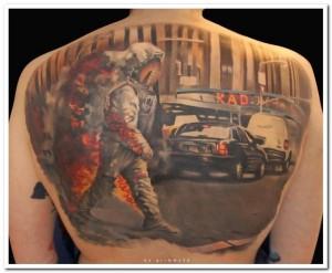 Incredibly Artistic Tattoos (47 photos) 30