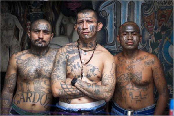 394 The Deadly Gangs of El Salvador (40 photos)