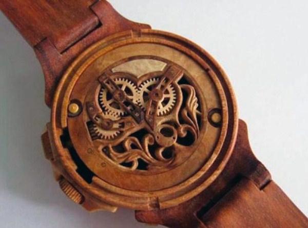 450 πλήρως λειτουργικό ρολόγια Σκαλιστή από ξύλο (10 φωτογραφίες)