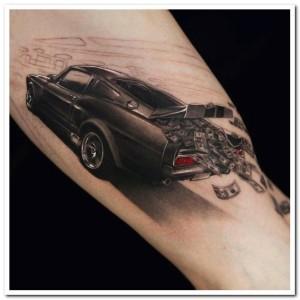 Incredibly Artistic Tattoos (47 photos) 47
