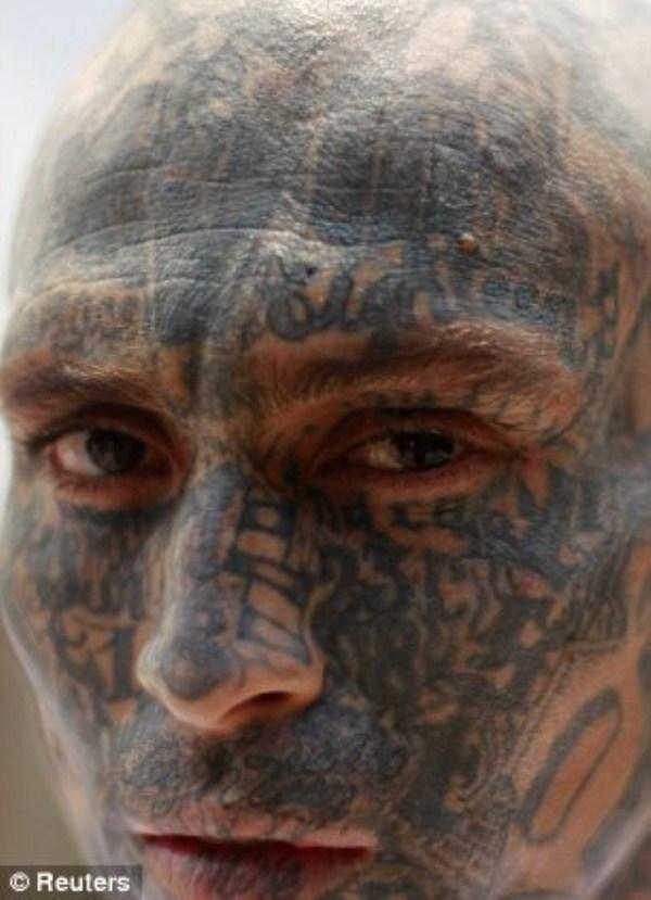 733 The Deadly Gangs of El Salvador (40 photos)