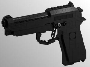 Guns Made With Legos (26 photos) 8